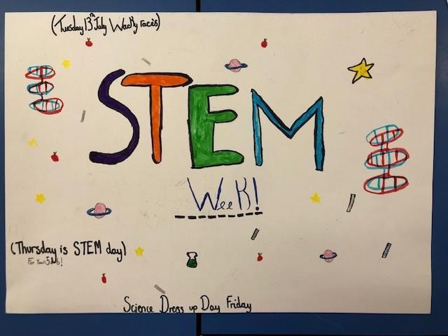 STEM week. Week beginning 5th July