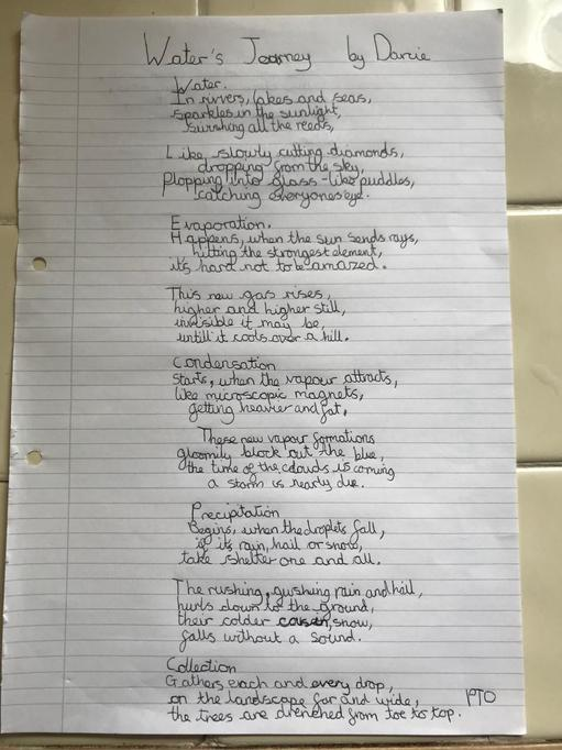 Water's Journey - Poem by Darcie