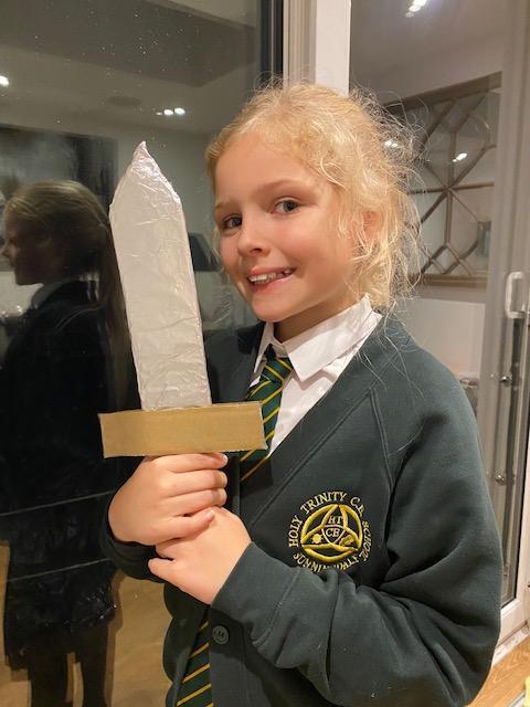 Dahlia's Roman sword