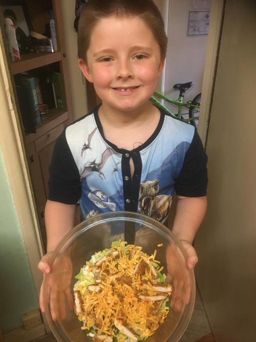 Morgan's chicken salad