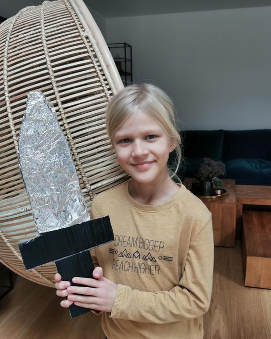 Amelia's Roman sword