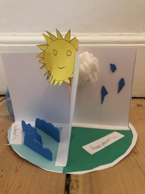Emily's 3D Model of the Water Cycle