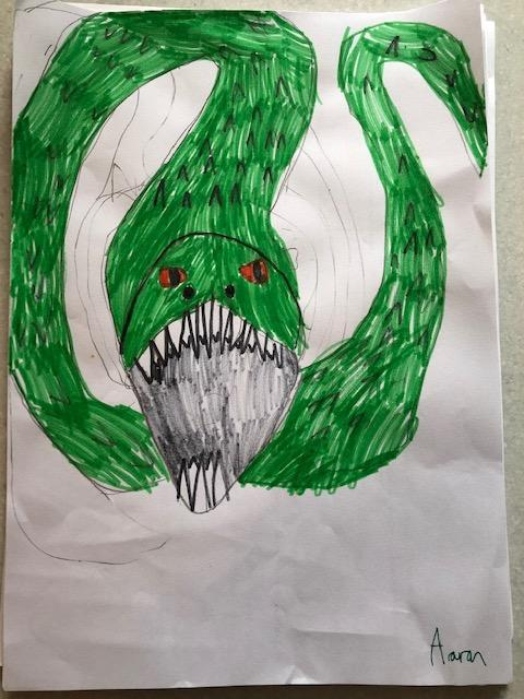 Aaran's Mythical Creature
