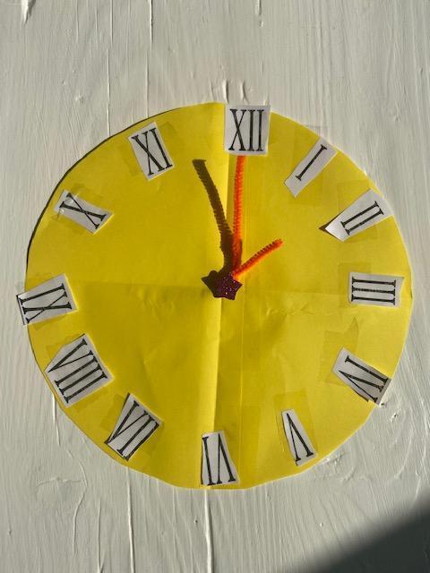 Ethan's Roman numerals clock