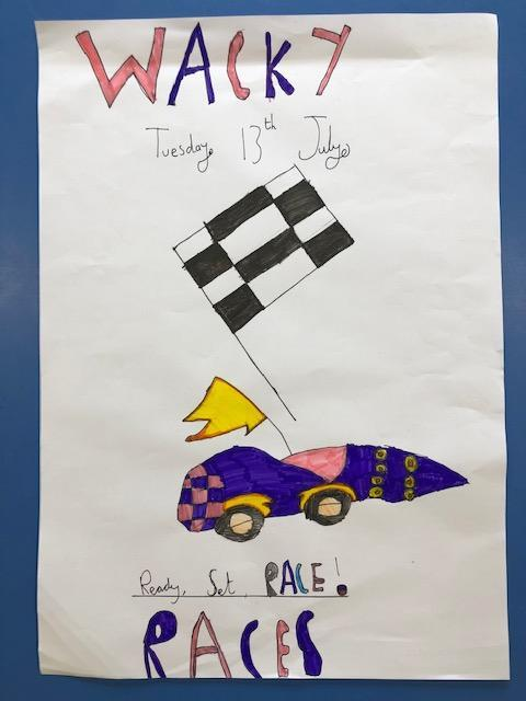 Wacky Races. 13th July.