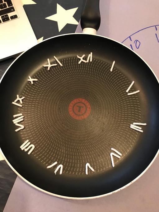 Wilf's Roman numerals clock