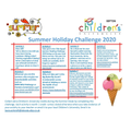 Here is the official Children's University Summer Challenges!
