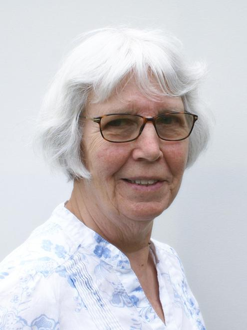 A photo of Helen Geeson one of our Church Wardens