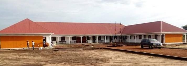Classroom, Laboratory and Administration block at the New build Keframa high school