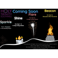 Coming soon: our new Sunday groups: Sparkle, Shine, Flare and Beacon