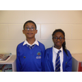 RE Ambassadors for Y4: Feyesola and Fadi