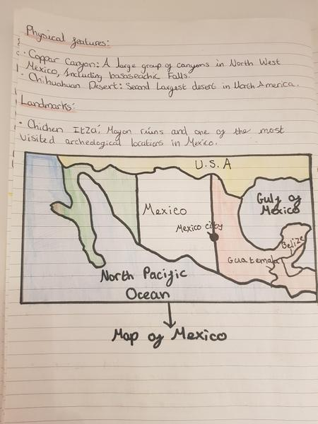 Chloe's Mexico Geography