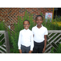 Aryeh and Stephen supporting Year 4 RE lessons