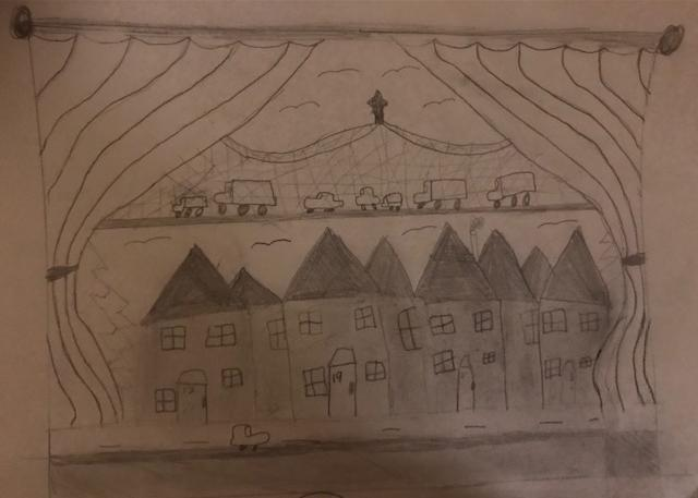 Feyintola's sketched view