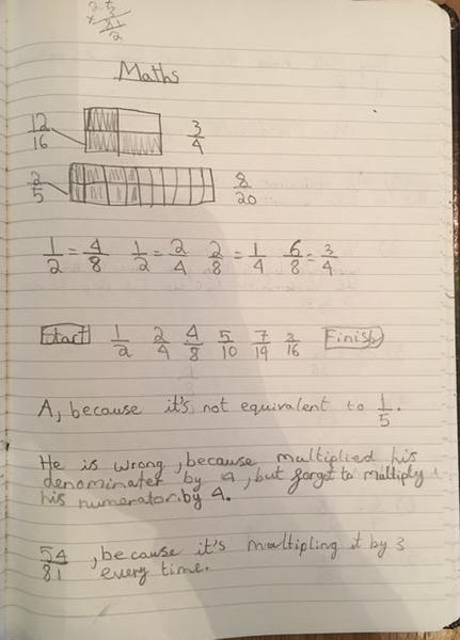 Keva's fraction work.