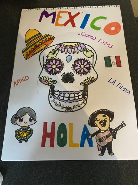 Miley's Mexican Art