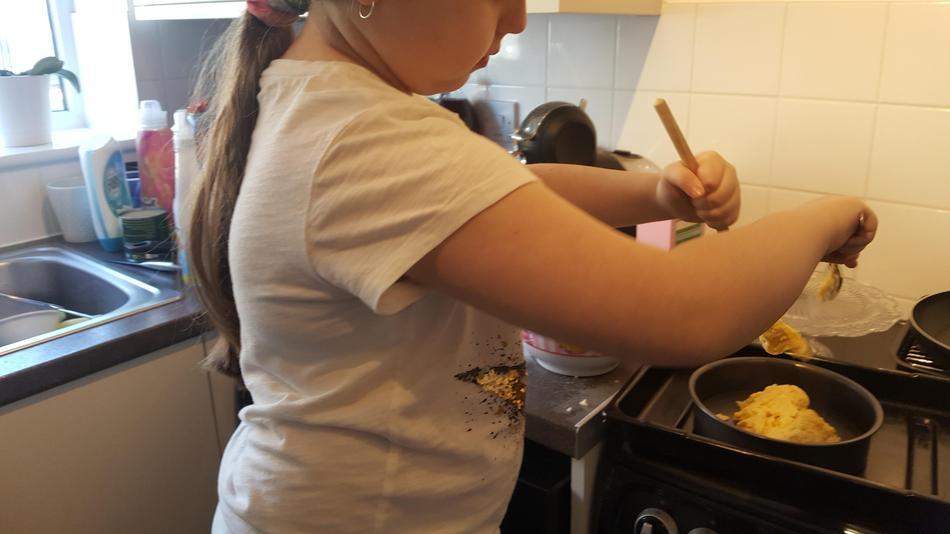 Jorgie Year 3 home cooking 3