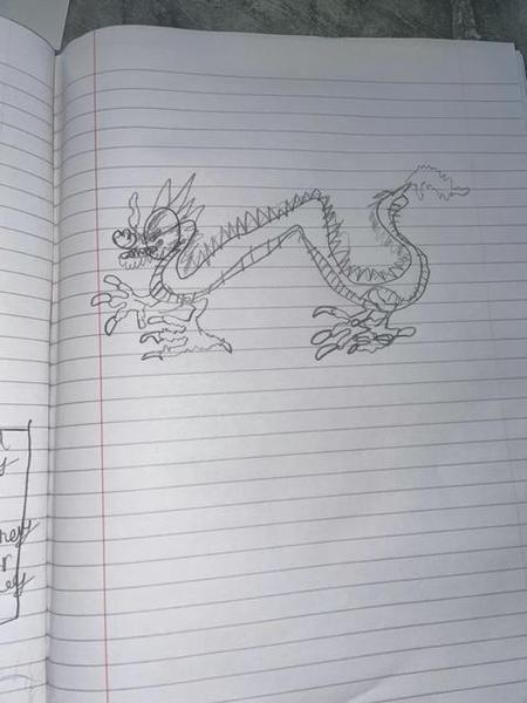 Mason B's Chinese dragon