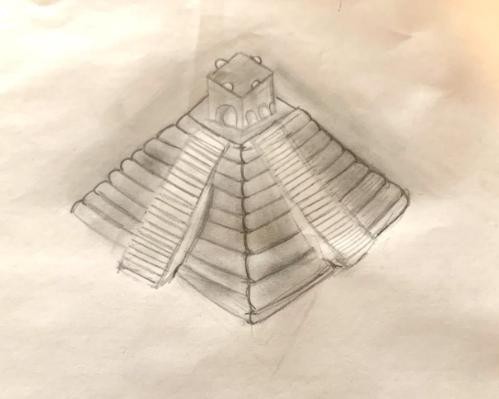 Nicole's Mayan Pyramid