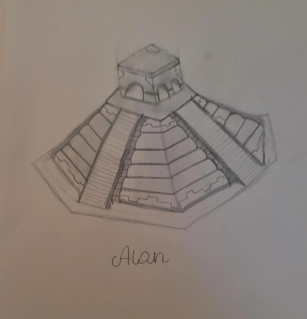 Alan's Mayan Pyramid