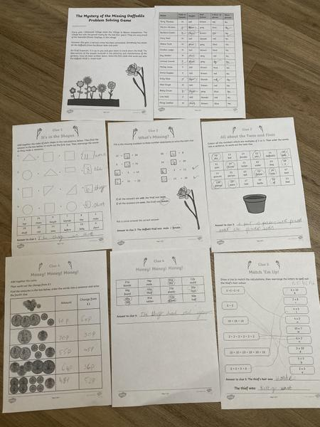 Mia Year 1 Maths learning
