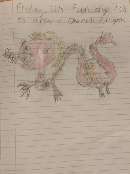 Feranmi's Chinese dragon