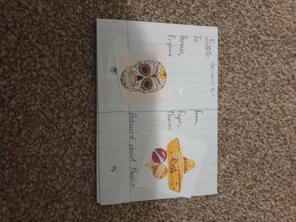 Fiyin's Postcard
