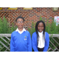 Fadi and Temi supporting Year 6 RE lessons