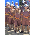 Anglo Saxon army ready to do battle