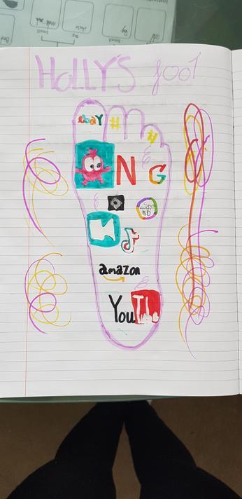Holly's amazing digital footprint!