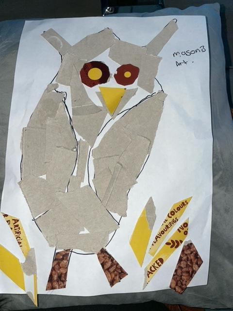 Mason B's fabulous owl