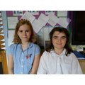 RE Ambassadors for Y6: Nemi and Ruby