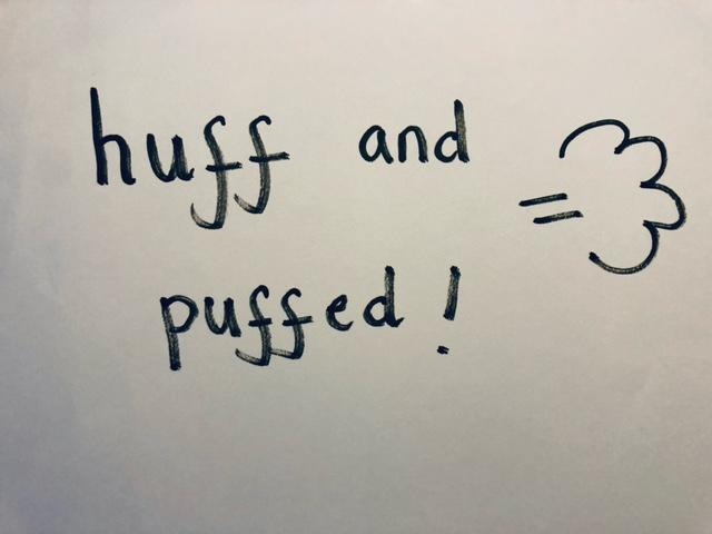 Can you huff and puff it?