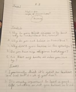 Rishi did some excellent thinking about humanism.