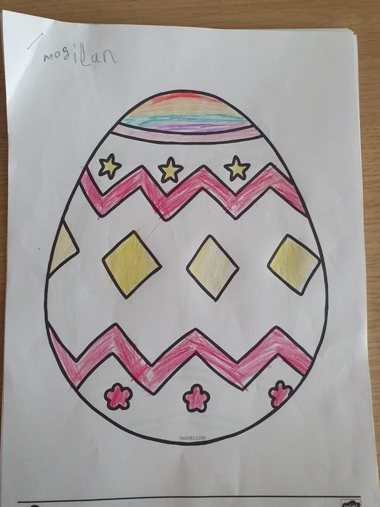 Mogilan Year 2 - Easter egg
