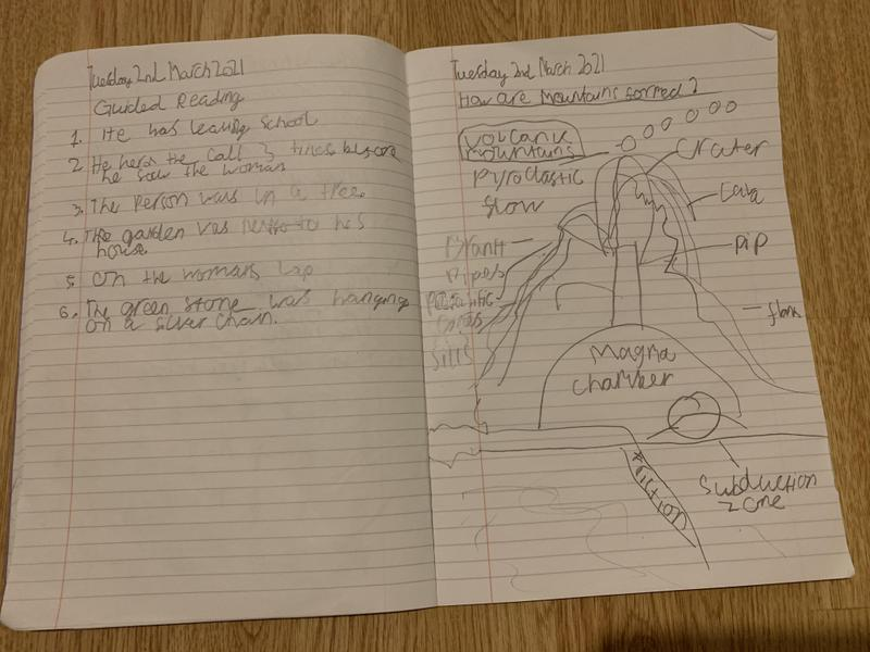 Feranmi's guided reading and Learning Project work.
