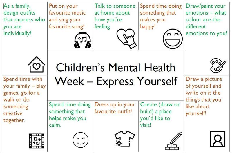 Try completing one of these activities a day.