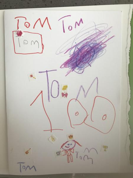 Millie Year 1 Card for Captain Tom Moore
