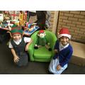 'Eggnog' our class elf.