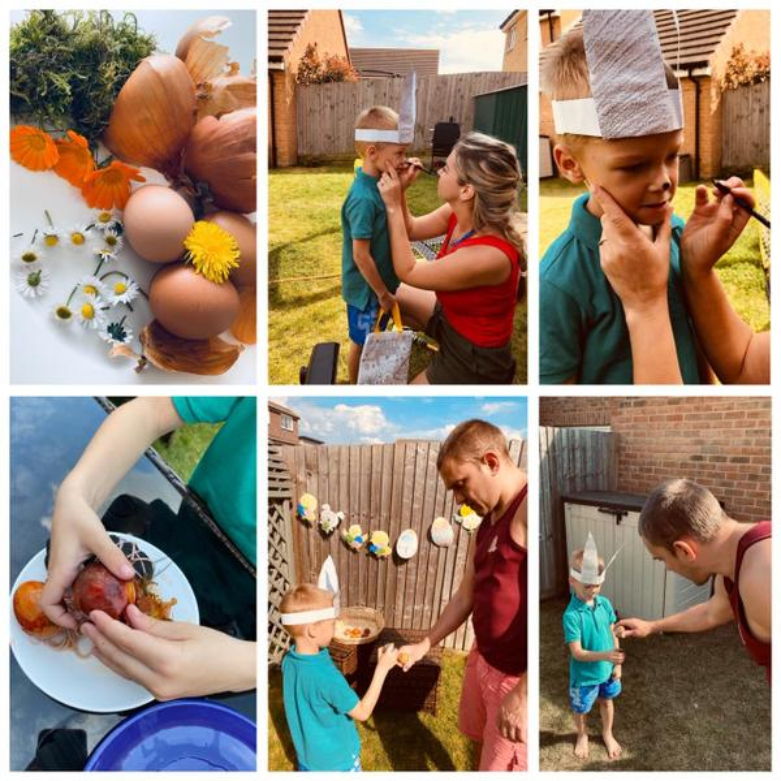 Ravio Year 1 - Easter decorations