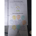 Matthew has completed some of the wellbeing activities.