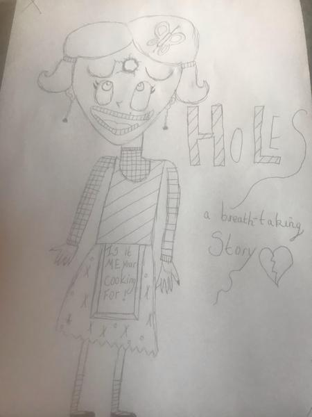 Lucie's Holes Front Cover