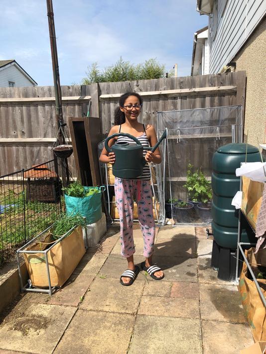 Abigail Year 5 gardening