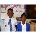 RE Ambassadors for Y4: Nasir and Feyesola