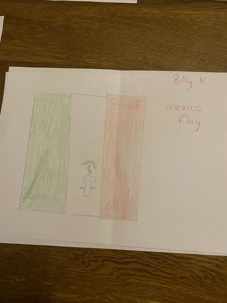 Billy's Mexican Flag