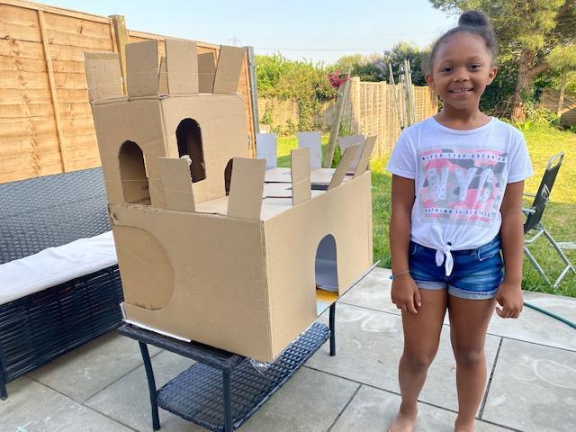 Sophia Year 2 castle model