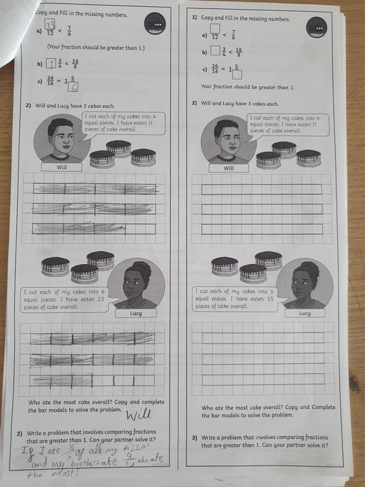 Harsana Year 5 - maths