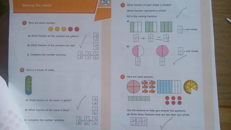Dorian Year 3 fractions