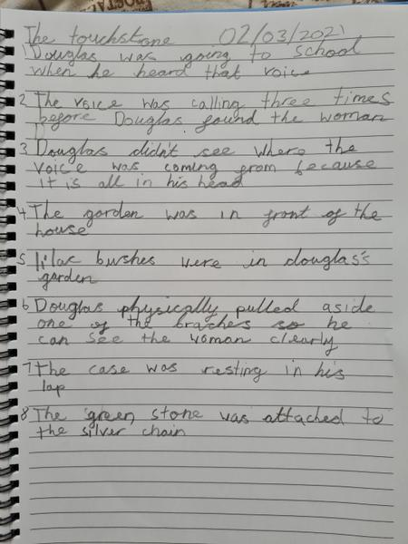 Freddie's guided reading answers.