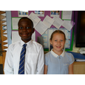 RE Ambassadors for Y5: Adonnis and Sofia